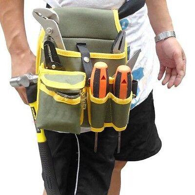 Portable Mechanic Belt Utility Pocket Pouch Canvas Waist Bags  Organizer