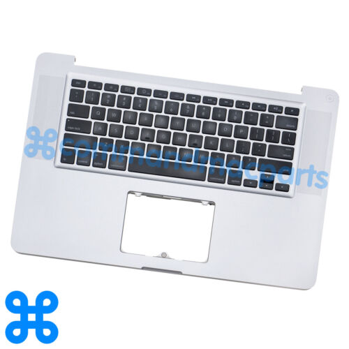 "Gr/_C TOP CASE MacBook Pro 15/"" A1286 Mid 2009 MB985 MB986 MC118 KEYBOARD"