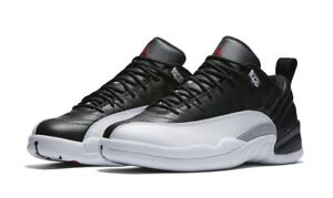 best service 3551c a3948 Image is loading Brand-New-Mens-Air-Jordan-12-Retro-Low-