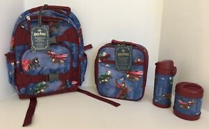 Pottery Barn Kids Harry Potter Sm Backpack Lunch Box Water