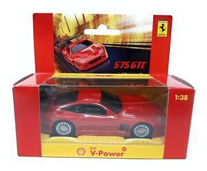 mit Sound Hot Wheels 1:38 Shell Ferrari 575 GTC in rot OVP