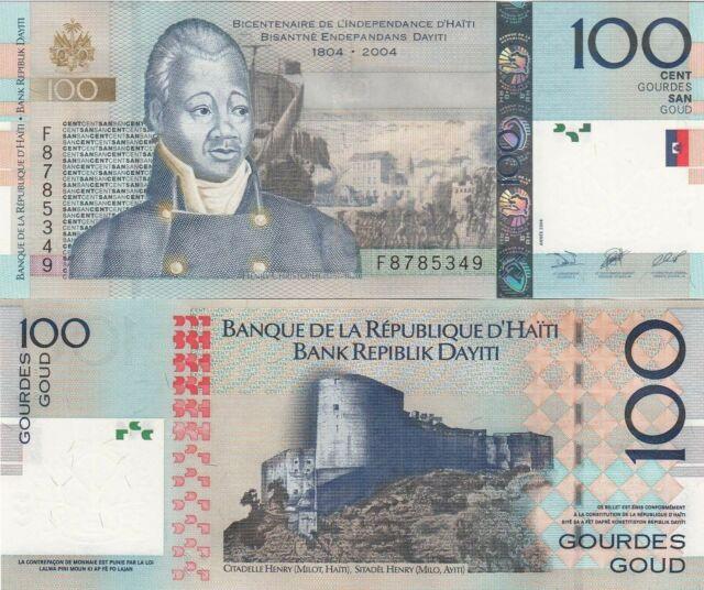 Haiti 50 Gourdes (2004) Cappoix/Fort Jalousiere/p274a UNC