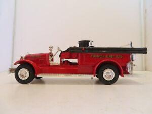 ERTL 1926 Seagrave Fire Truck Bank Diecast USA