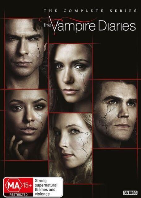 Vampire Diaries : Season 1-8 (DVD, 38-Disc Set) NEW