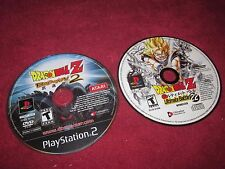 DRAGON BALL Z ULTIMATE BATTLE 22 PS1 AND DBZ BUDOKAI 2 PS2 NOT WORKING!