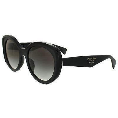 Prada Sunglasses 12PS 1AB0A7 Black Grey Gradient