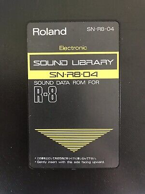ROLAND R8 Cartridge Card Electronic 808sounds