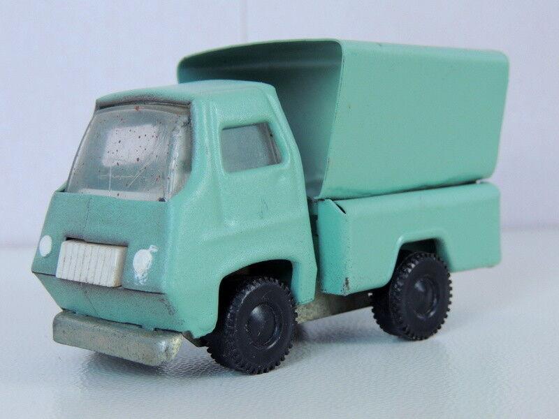 Soviet RUSSIAN USSR década de 1980 Vintage Coleccionables Metal Antiguo Juguete de estaño coche camión
