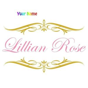 Personalized-Custom-Name-Kids-Vinyl-Wall-Sticker-Room-Decoration-Wall-Decal-Door