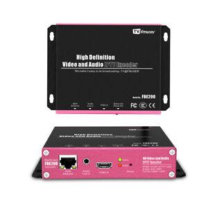 Details about FMUSER H 264 /H 265 IPTV encoder HD IPTV Streaming Encoder  Support M3U8 HLS