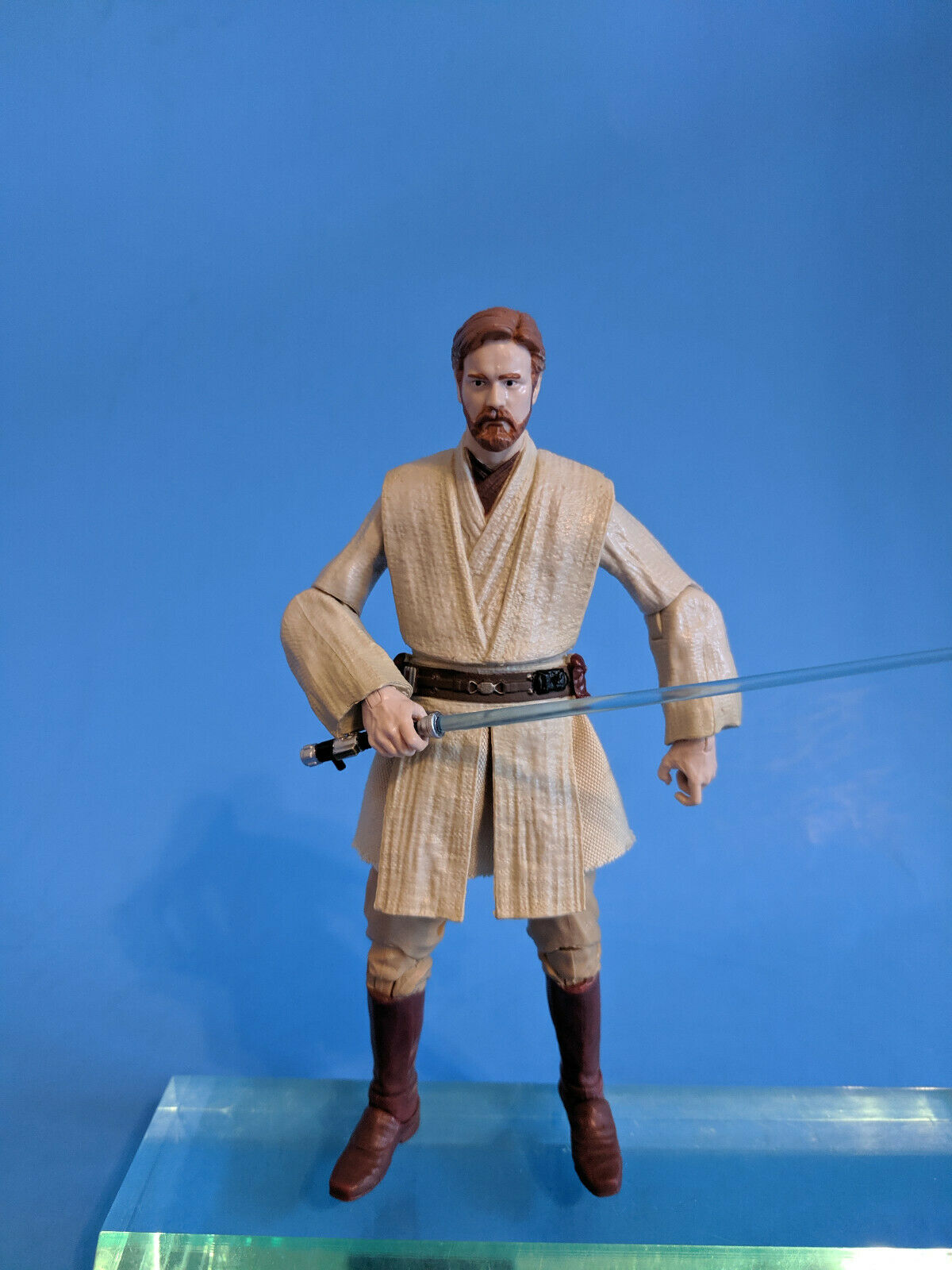 1998 Star Wars Power Of The Force Action Collection 12 Obi Wan Kenobi Figure For Sale Online Ebay