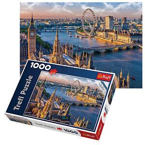 Trefl 1000 Piece Adult Large London Eye Big Ben Thames Floor Jigsaw Puzzle NEW