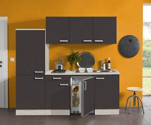 Miniküche 1 M Mit Kühlschrank : Miniküche mit kühlschrank singleküche glaskeramikkochfeld