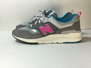 New-Balance-997H-Castlerock-Mens-Sneakers-Shoes-CM997HAH-Gray-Pink-Blue-Size-10
