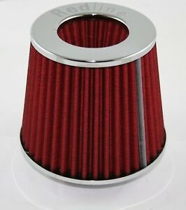 Redline-EFI-Air-Pod-Filter-76mm-neck-in-Chrome-16-504