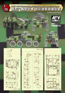 AFV-Club-1-35-TW60019-Camouflage-Specialized-Masking-Tape-for-ROC-TIFV-CM-32-33