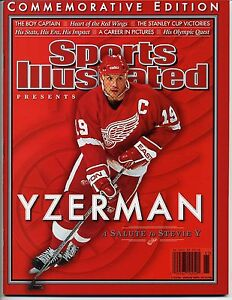 2006-STEVE-YZERMAN-Commemorative-Edition-Sports-Illustrated-Detroit-Red-Wings
