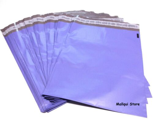 25 PURPLE COLOR POLY SHIPPING BAGS 9 x 12 MAILING PLASTIC ENVELOPES