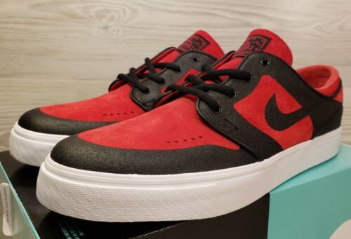 Nike SB Stefan Janoski Elite Bred Red Black Skateboarding 877062-600 Size 11