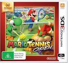 Nintendo 3ds Selects Mario Tennis Open Game