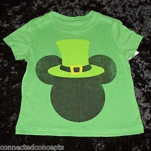fb1038ee9 Disney St Patrick's Day Irish Mickey Infant/Toddler Boys T-shirt ...