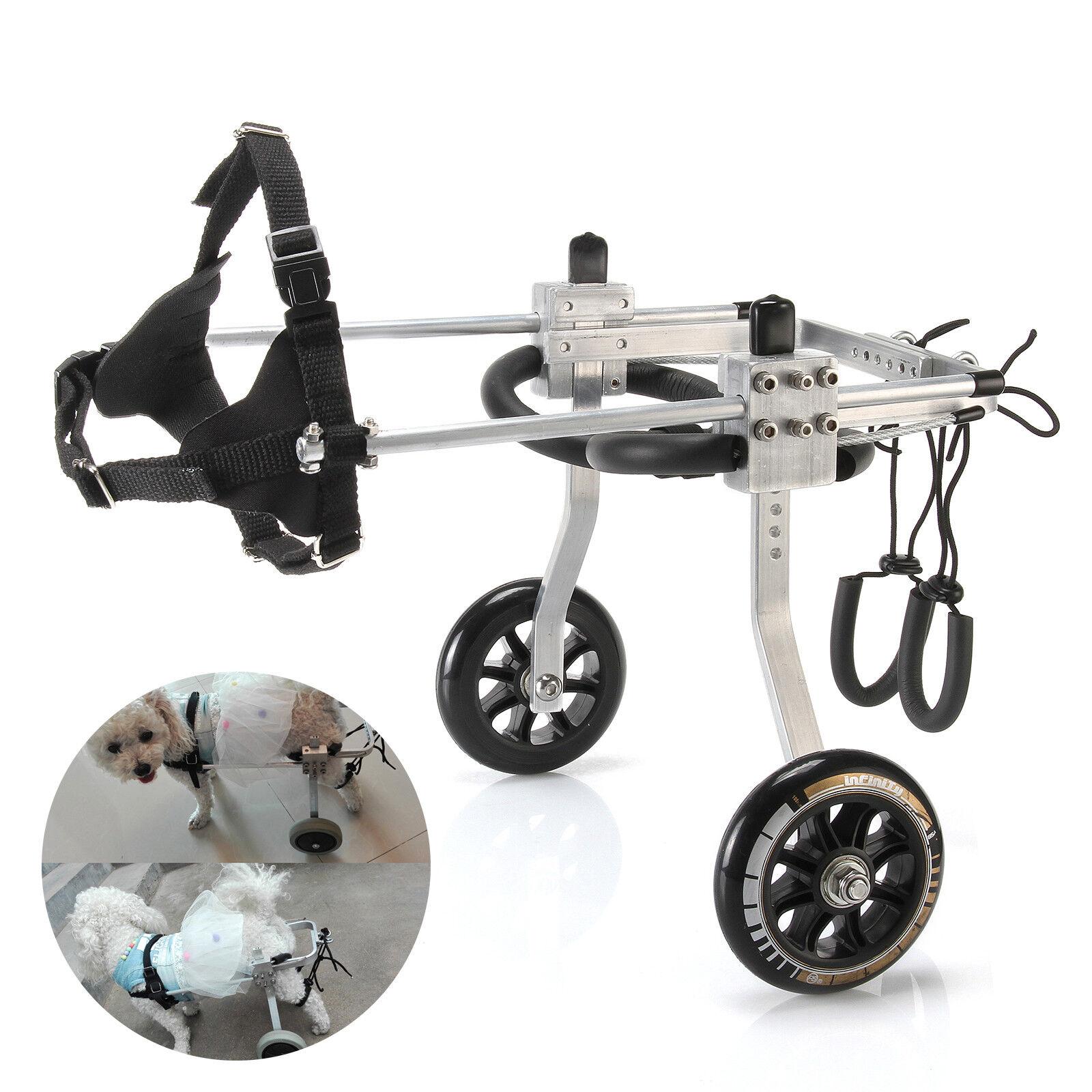 marchi di moda Pet 3-15lb Small 2-Wheel Wheelchair for Behind legs Handicapped Hind Hind Hind Leg Dog  compra meglio