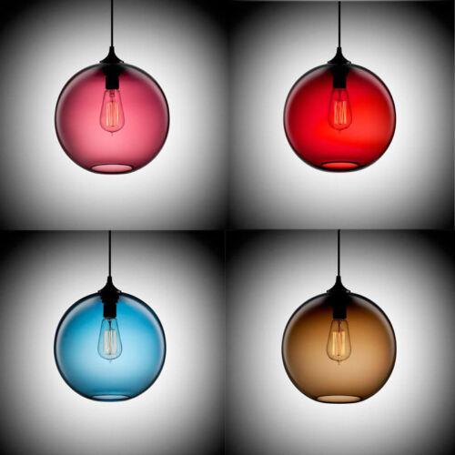 Modern Loft Industrial Bar Cafe Glass Lamp Shade Pendant Ceiling Light  HC