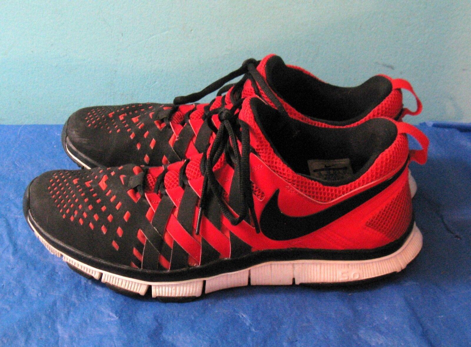 Nike libera allenatore / nero / allenatore rosso 579809 5,0 intrappola dita slalom (sz 13) 44f513