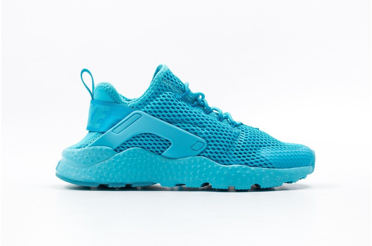 Size 5.5 Nike Women AIR HUARACHE RUN ULTRA BREATHE RUNNING SHOES 833292 400 Blue