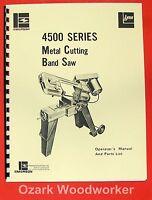 Horizontal Band Saw 5x6, Emerson, Jet, Enco, Craftsman 0365