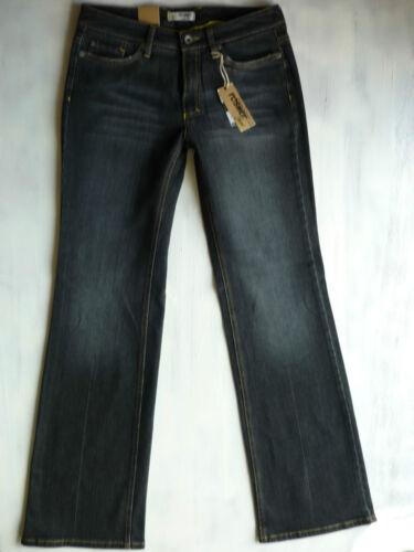 Rosner Gold Star Boot Cut Jeans stretch d grau used schwarz Gr 36 38 W29//L34 Neu