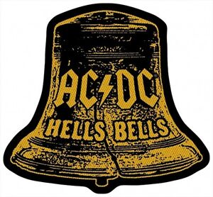 AC-DC-ACDC-Patch-Aufnaeher-Hells-Bells-Cut-Out-9x10cm