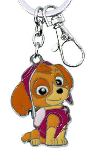 Paw Patrol Skye Silvertone Cartoon//TV Charm Pendant Key Chain