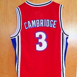 66620e915c27 Calvin Cambridge  3 LA Knights Red Basketball Jersey Like Mike Lil ...
