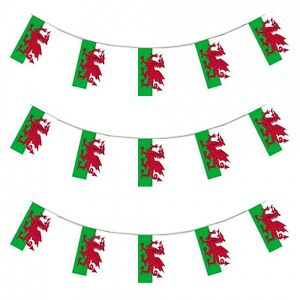Rugby-Wales-Flag-Bunting-Welsh-6-Six-Nations-Nations-World-Cup-Banner-Cymru-10m
