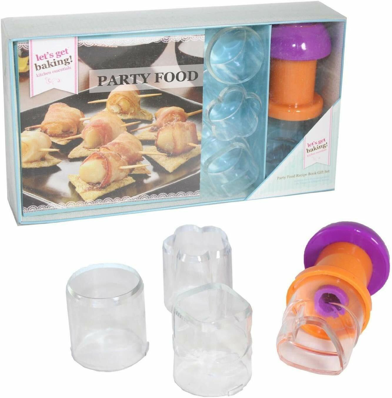 PMSGet Baking Party Food Book Gift Set in Gift Box