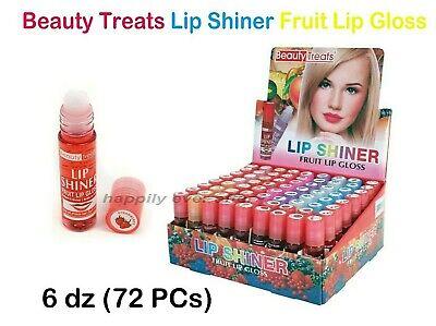 Beauty Treats Fruit Roll On Fruity Lipgloss Wholesale Lot 6 Dz 72 Pcs Ebay