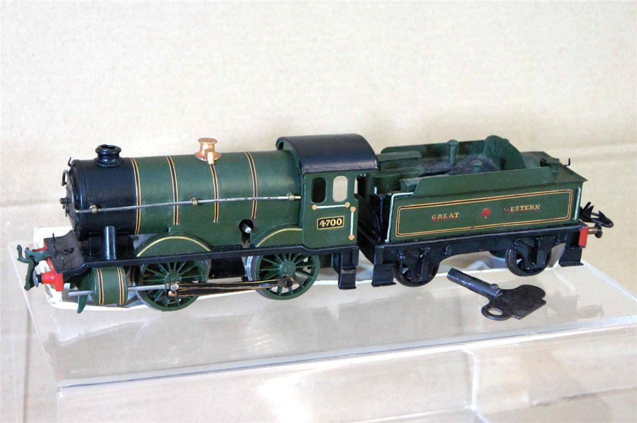 HORNBY No1 O GAUGE  KIT BUILT GW GWR 0-4-0 CLOCKWORK SPECIAL TENDER LOCO 4700 na