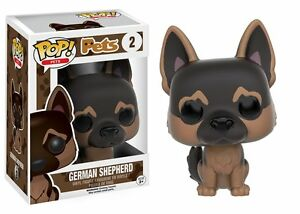 Funko Pop Pets: German Shepherd Vinyl Stylized Dog Action Figure Collectible Toy