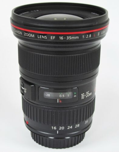 1 of 1 - Canon 16-35mm f/2.8 II L EF USM Wide Angle Lens Boxed - ST32263
