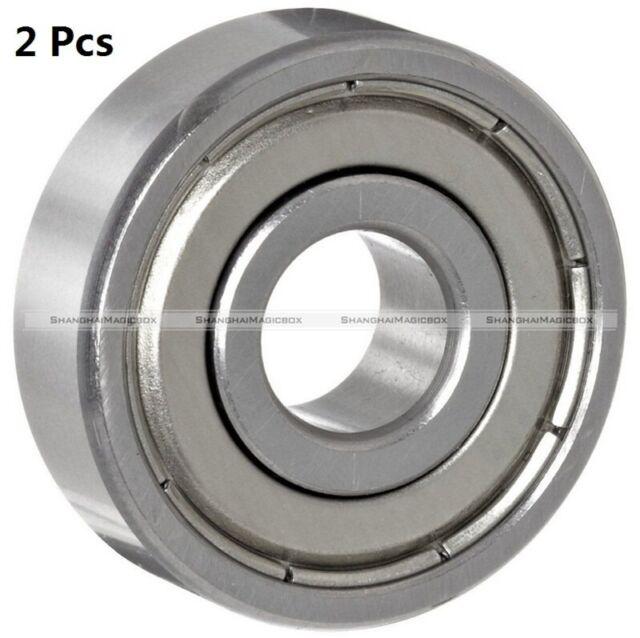 2Pcs 624ZZ 4mmx13mmx5mm 624Z Radial Ball Bearings 3D Printer Reprap