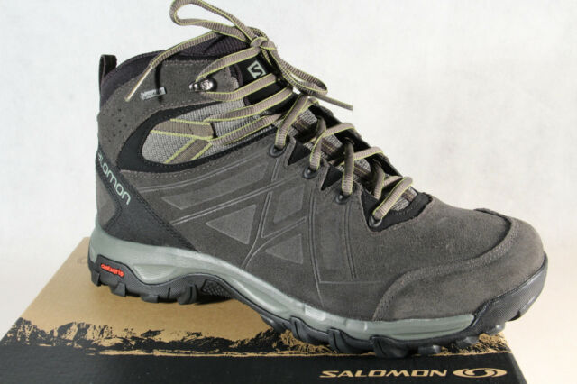 Salomon Evasion 2 mid Ltr GTX Boots Grey Waterproof Gore Tex New