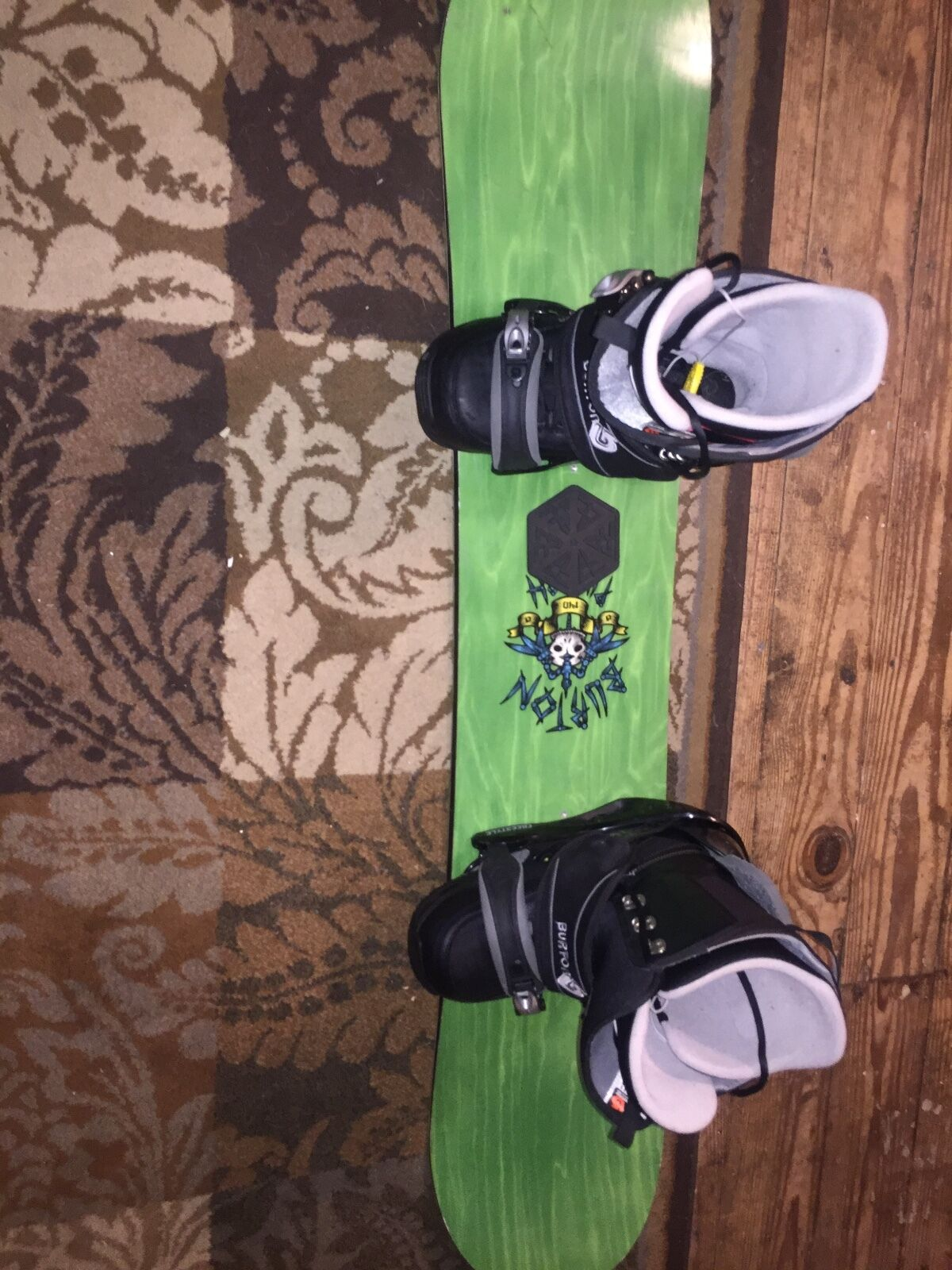 Burton Snowboard & Boots  55  Hardly ever used