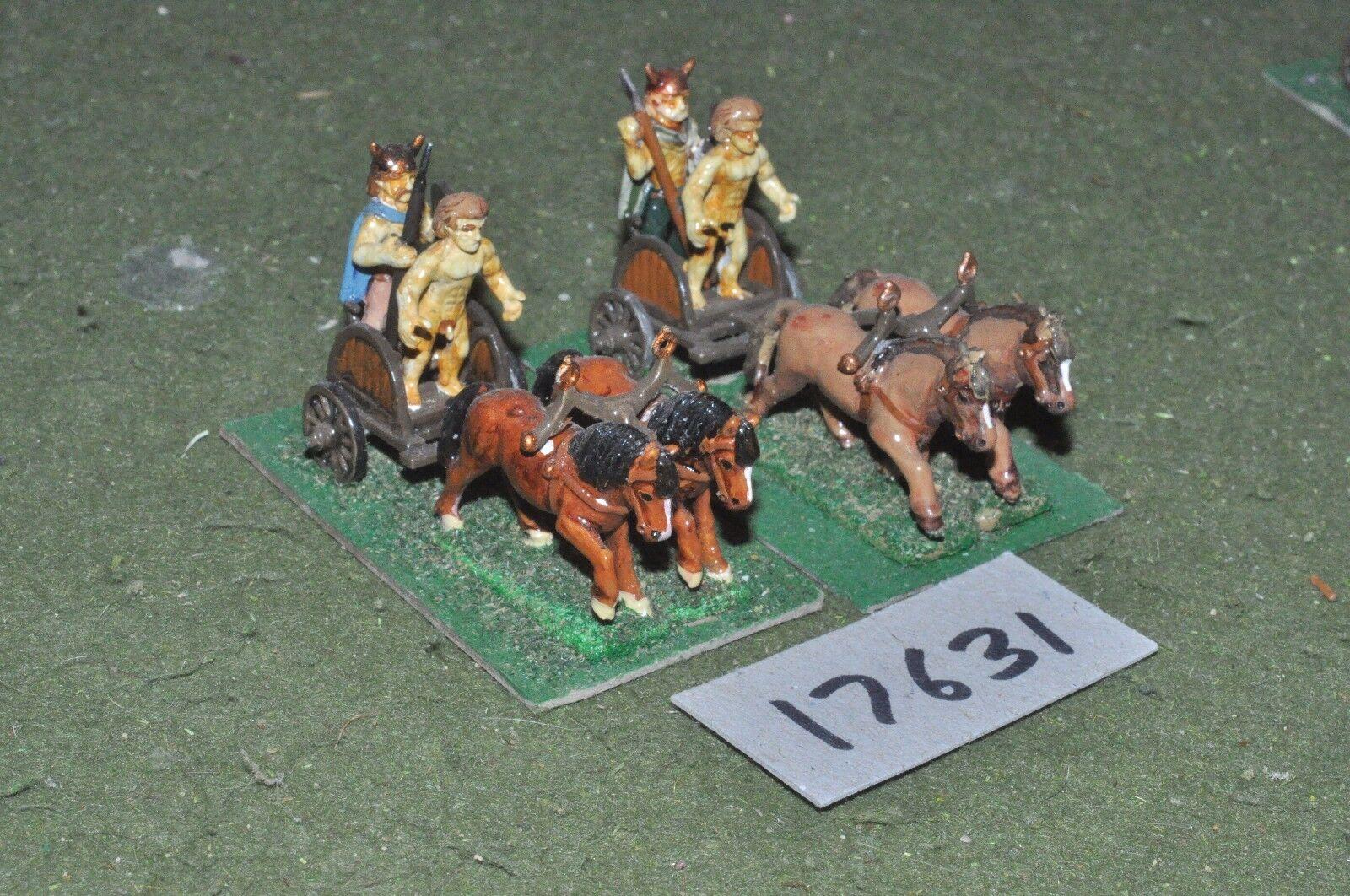 25mm roman era   gaul - gallic chariots 2 chariots - chariot (17631)