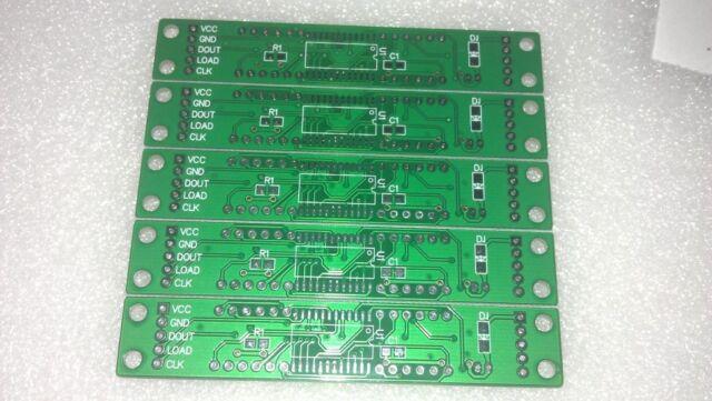 5pcs MAX7219 digital control module empty PCB board