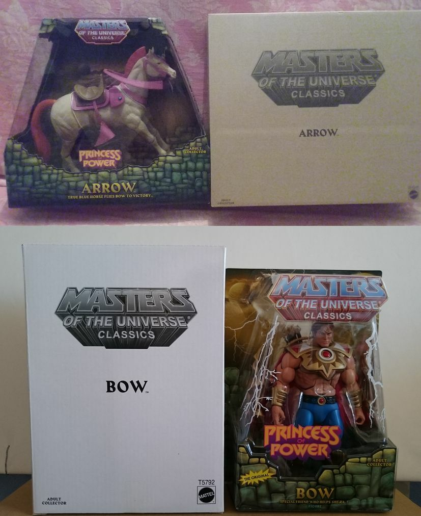 Maitres de l'Univers MOTU Classics - Bow et Arrow - masters of universe NEUF