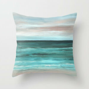 Throw-Pillow-Case-Cushion-Cover-Made-USA-Sea-View-265-aqua-ocean-beach-L-Dumas