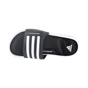 36fe46fae9e0 Adidas Superstar slides Men s Sandals Core Black Footwear White ...