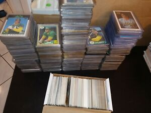 Jose-Canseco-900-Card-Lot-176-1986-Rookies-345-1987-Cards-15-Tiffany-32-Glossy