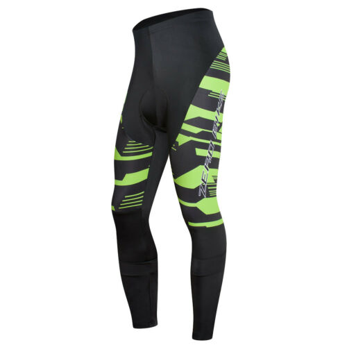 Mens Cycling Pants Bike Bicycle Long Pants Tights Breathable Gel Padded Cool